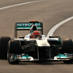 Formula One World Championship 2011, Round 17, India, Greater Noida, India, Friday 28 October 2011 - Michael Schumacher (GER), Mercedes GP Petronas F1 Team