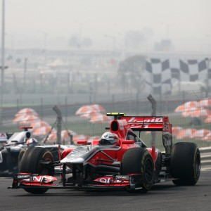 Formula One World Championship 2011, Round 17, India, Greater Noida, India, Friday 28 October 2011 - Jerome d'Ambrosio (BEL), Marussia Virgin Racing