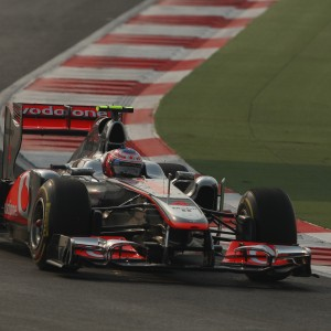 Formula One World Championship 2011, Round 17, India, Greater Noida, India, Friday 28 October 2011 - Jenson Button (GBR), McLaren Mercedes