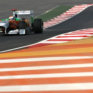 Formula One World Championship 2011, Round 17, India, Greater Noida, India, Friday 28 October 2011 - Adrian Sutil (GER), Force India