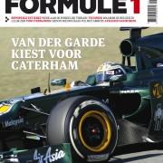 Formule 1 nr. 3 is uit!
