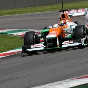 Formula One Testing, Mugello, Scarperia, Italy, Tuesday 1 May 2012 - Jules Bianchi (FRA), Sahara Force India Formula One Team