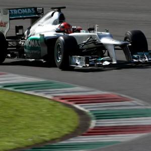 Formula One Testing, Mugello, Scarperia, Italy, Wednesday 2 May 2012 - Michael Schumacher (GER), Mercedes GP