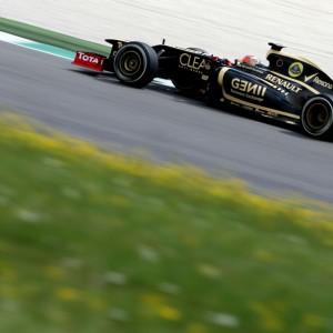 Formula One Testing, Mugello, Scarperia, Italy, Thursday 3 May 2012 - Romain Grosjean (FRA), Lotus F1 Team