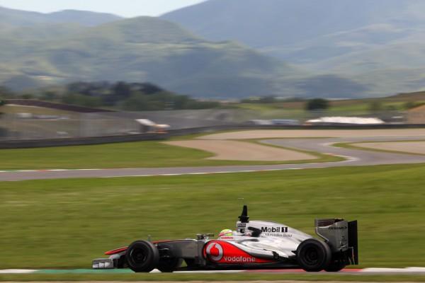 Formula One Testing, Mugello, Scarperia, Italy, Thursday 3 May 2012 - Oliver Turvey (GBR), McLaren Mercedes