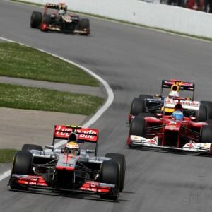 Formula One World Championship 2012, Round 7, Canadian Grand Prix, Montreal, Canada, Sunday 10 June 2012 - Lewis Hamilton (GBR), McLaren Mercedes