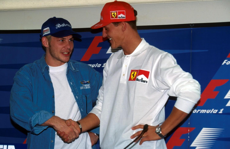 Villeneuve: 'Schumacher is weer de oude'