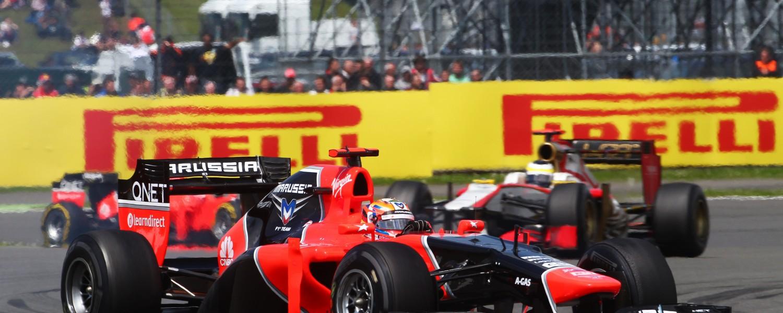 Prima einde van moeilijke week voor Marussia