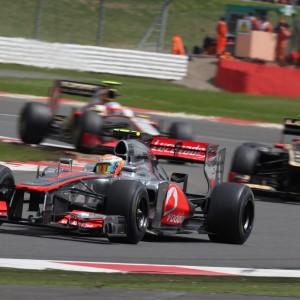 Formula One World Championship 2012, Round 9, British Grand Prix, Silverstone, England, Sunday 8 July 2012 - Lewis Hamilton (GBR), McLaren Mercedes