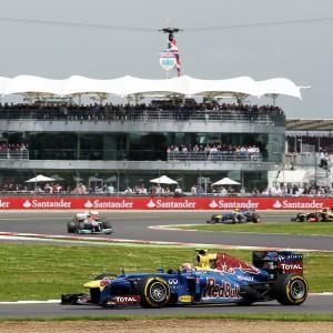 Formula One World Championship 2012, Round 9, British Grand Prix, Silverstone, England, Sunday 8 July 2012 - Mark Webber (AUS) Red Bull Racing RB8.