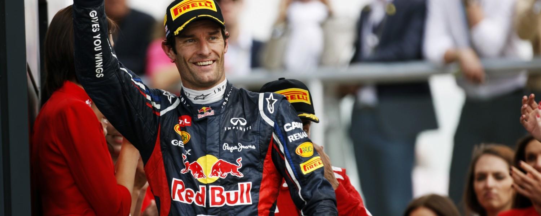 Webber verlengt contract met Red Bull