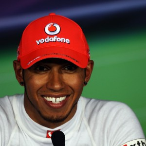 Formula One World Championship 2012, Round 13, Italian Grand Prix, Monza, Italy, Saturday 8 September 2012 - Pole sitter Lewis Hamilton (GBR) McLaren in the post qualifying FIA Press Conference.