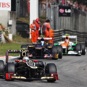 Formula One World Championship 2012, Round 13, Italian Grand Prix, Monza, Italy, Sunday 9 September 2012 - Jerome d'Ambrosio (BEL) Lotus F1 E20.