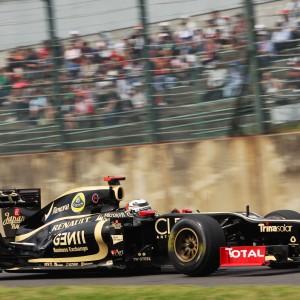 Formula One World Championship 2012, Round 15, Japanese Grand Prix, Suzuka, Japan, Saturday 6 October 2012 - Kimi Raikkonen (FIN) Lotus F1 E20.