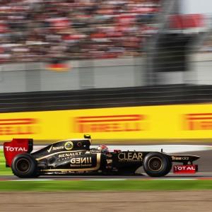 Formula One World Championship 2012, Round 15, Japanese Grand Prix, Suzuka, Japan, Saturday 6 October 2012 - Romain Grosjean (FRA) Lotus F1 E20.