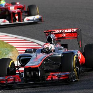 Formula One World Championship 2012, Round 15, Japanese Grand Prix, Suzuka, Japan, Sunday 7 October 2012 - Jenson Button (GBR) McLaren MP4/27.