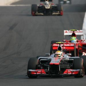 Formula One World Championship 2012, Round 16, Korean Grand Prix, Yeongam, South Korea, Sunday 14 October 2012 - Lewis Hamilton (GBR), McLaren Mercedes