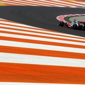 Formula One World Championship 2012, Round 17, Indian Grand Prix, New Delhi, India, Friday 26 October 2012 - Jenson Button (GBR) McLaren MP4/27.
