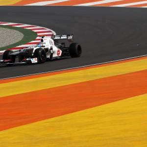 Formula One World Championship 2012, Round 17, Indian Grand Prix, New Delhi, India, Friday 26 October 2012 - Esteban Gutierrez (MEX) Sauber C31 Third Driver.
