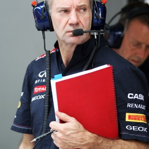 Formula One World Championship 2012, Round 17, Indian Grand Prix, New Delhi, India, Friday 26 October 2012 - Adrian Newey (GBR) Red Bull Racing Chief Technical Officer.