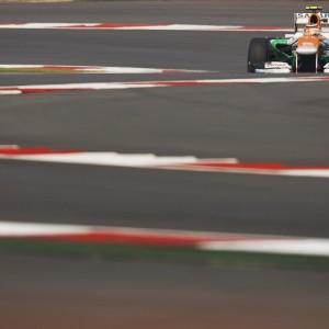 Formula One World Championship 2012, Round 17, Indian Grand Prix, New Delhi, India, Friday 26 October 2012 - Nico Hulkenberg (GER) Sahara Force India F1 VJM05.