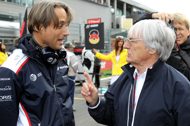 Williams-baas Parr: 'Opgestapt vanwege Ecclestone'