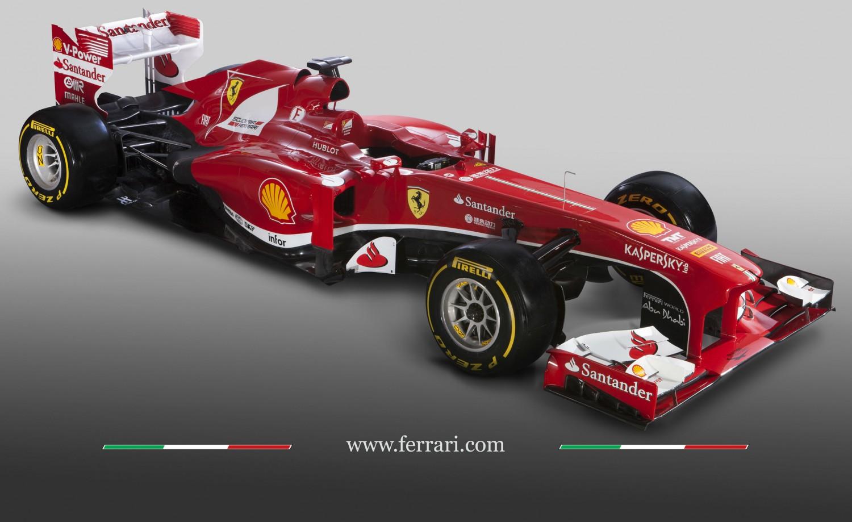 Foto's: Ferrari F138 zonder getrapte neus