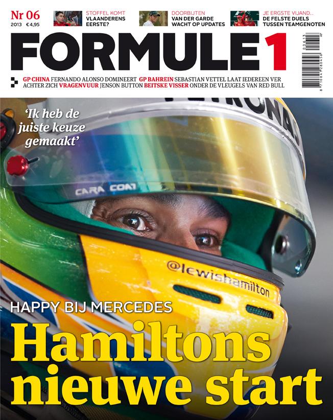 Formule 1 nr. 6 is uit!