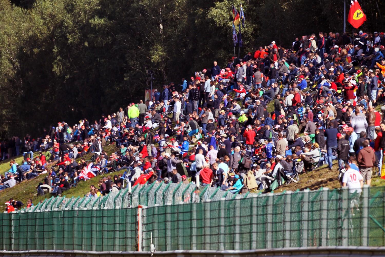Laatste staanplaatsen GP België te koop