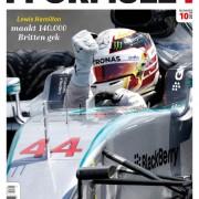 Formule 1 nr. 10 is uit!