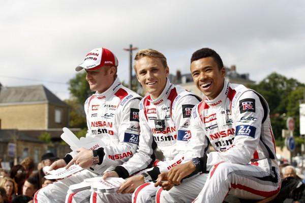 24Hrs of Le Mans 2015, Le Mans, France, Friday 12 June 2015 - Olivier Pla, Jann Mardenborough, Max Chilton #23 Nissan Motorsports Nissan GT-R LM NISMO