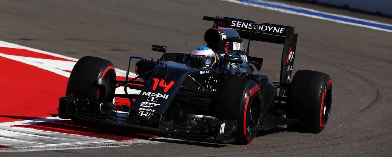 McLaren: 'Moesten te veel benzine sparen in Sotsji'