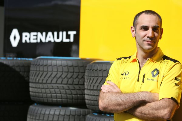 Formula One World Championship 2016, Round 1, Australian Grand Prix, Melbourne, Australia, Sunday 20 March 2016 - Cyril Abiteboul (FRA) Renault Sport F1 Managing Director.