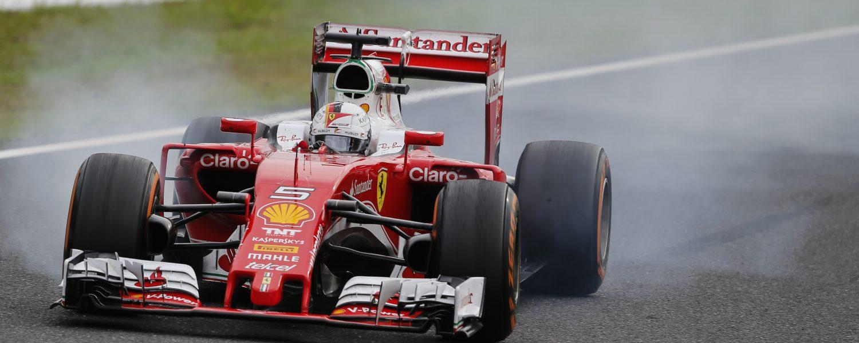Vettel: 'Ferrari had op Mercedes na de snelste auto'