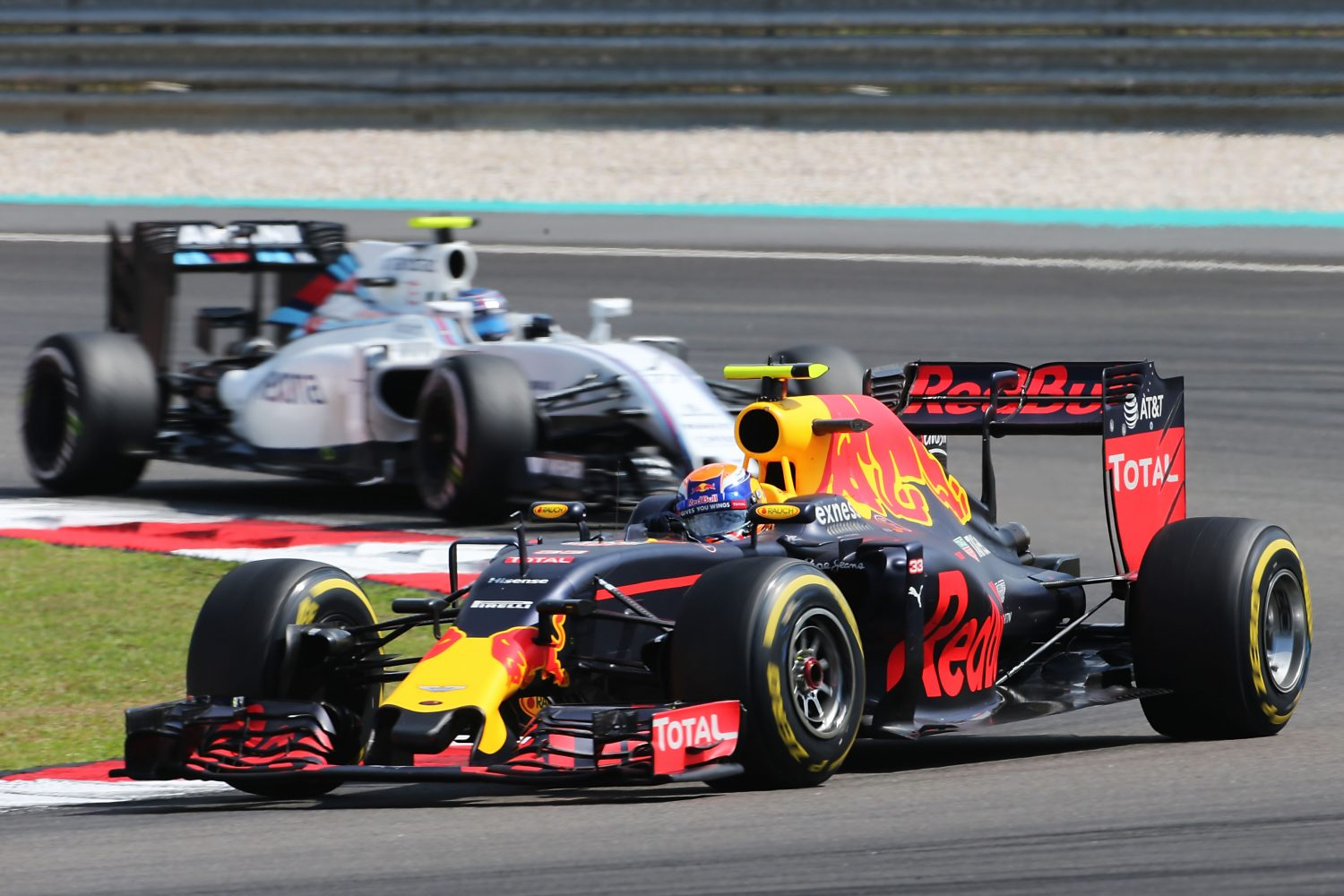 Formula One World Championship 2016, Round 16, Malaysian Grand Prix, Kuala Lumpur, Malaysia, Sunday 2 October 2016 - Max Verstappen (NLD) Red Bull Racing RB12.