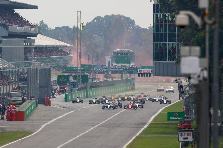 Officieel: F1 verlengt contract met Monza