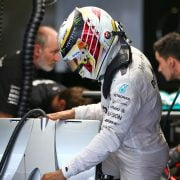 Formula One World Championship 2016, Round 21, Abu Dhabi Grand Prix, Abu Dhabi, United Arab Emirates, Friday 25 November 2016 – Lewis Hamilton (GBR) Mercedes AMG F1 W07 Hybrid.