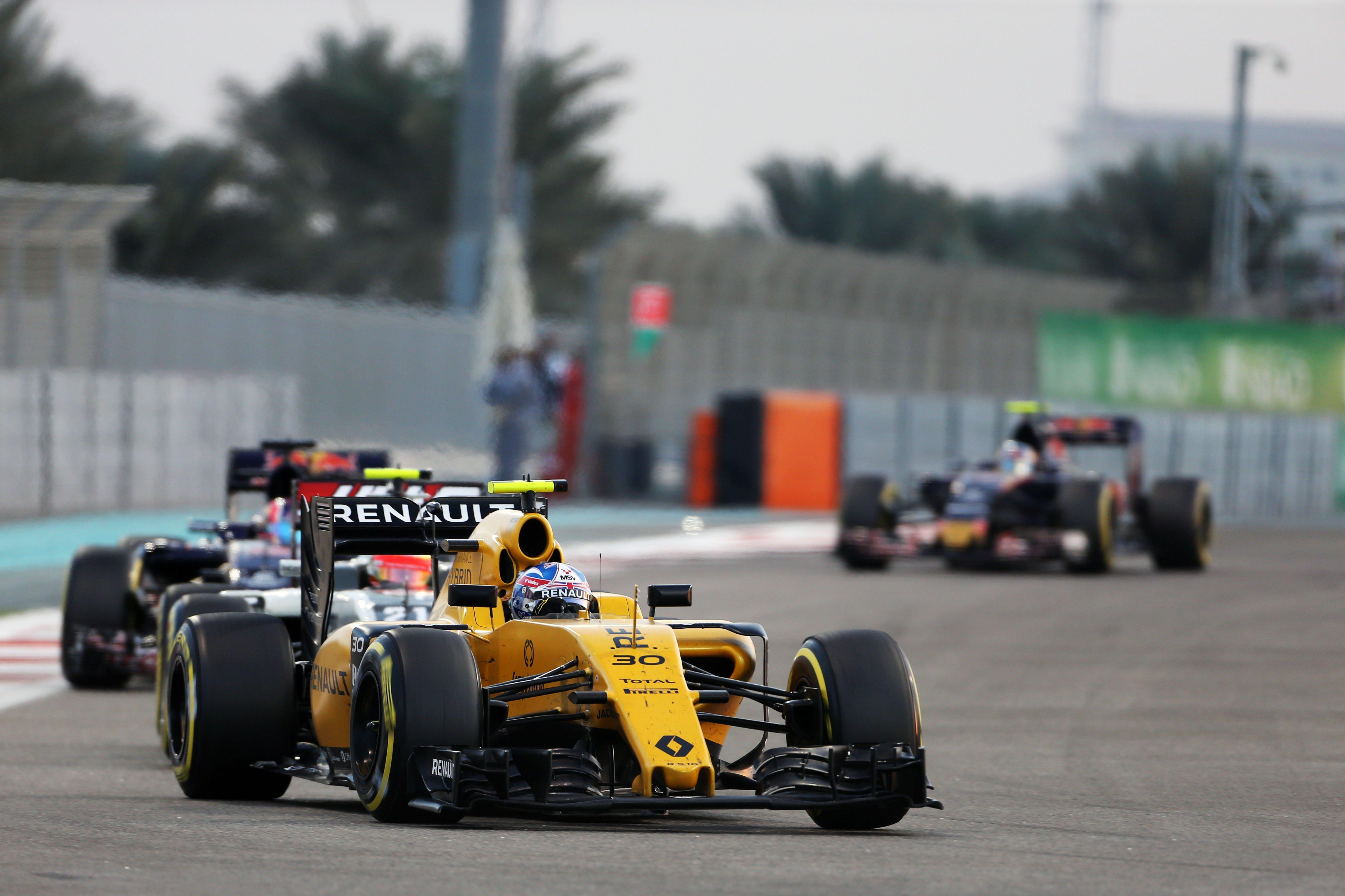 Formula One World Championship 2016, Round 21, Abu Dhabi Grand Prix, Abu Dhabi, United Arab Emirates, Sunday 27 November 2016 – Jolyon Palmer (GBR) Renault Sport F1 Team RS16.