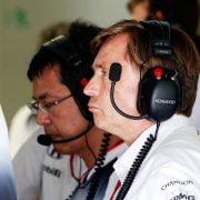 'Capito gaat alweer weg bij McLaren'