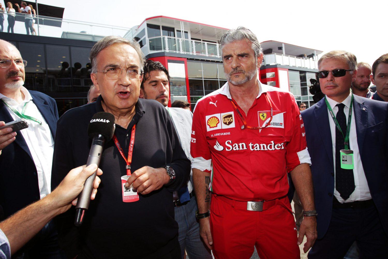 Marchionne geeft Ferrari's technische team de tijd