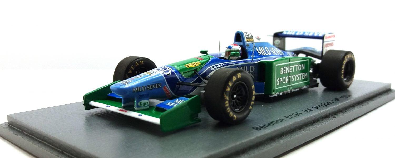 Gespot: Verstappens Benetton B194 in 1:43