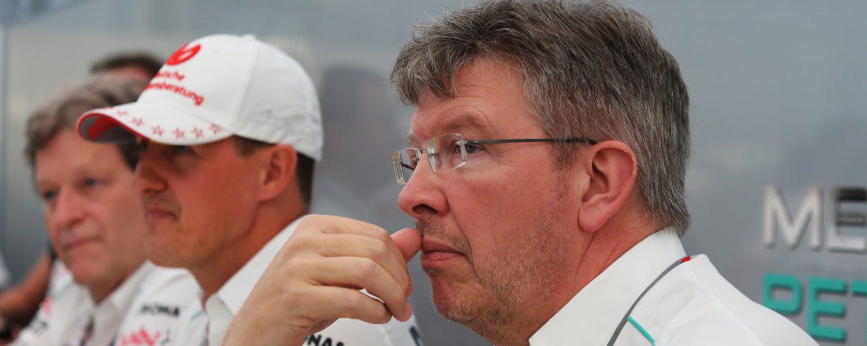 Brawn: Hamilton moeilijk te vergelijken met Schumacher