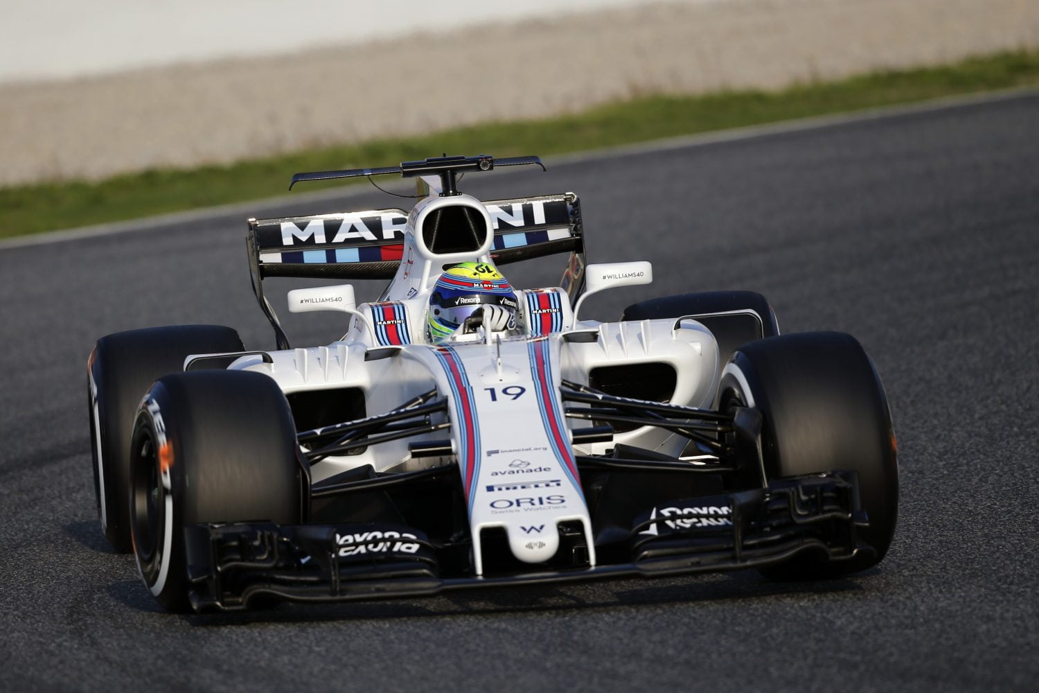 F1 Testing Day One