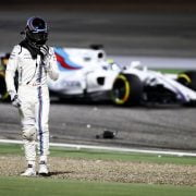Formula One World Championship 2017, Round 3, Bahrain Grand Prix, Sakhir, Bahrain, Sunday 16 April 2017 – Lance Stroll (CDN) Williams retired from the race.