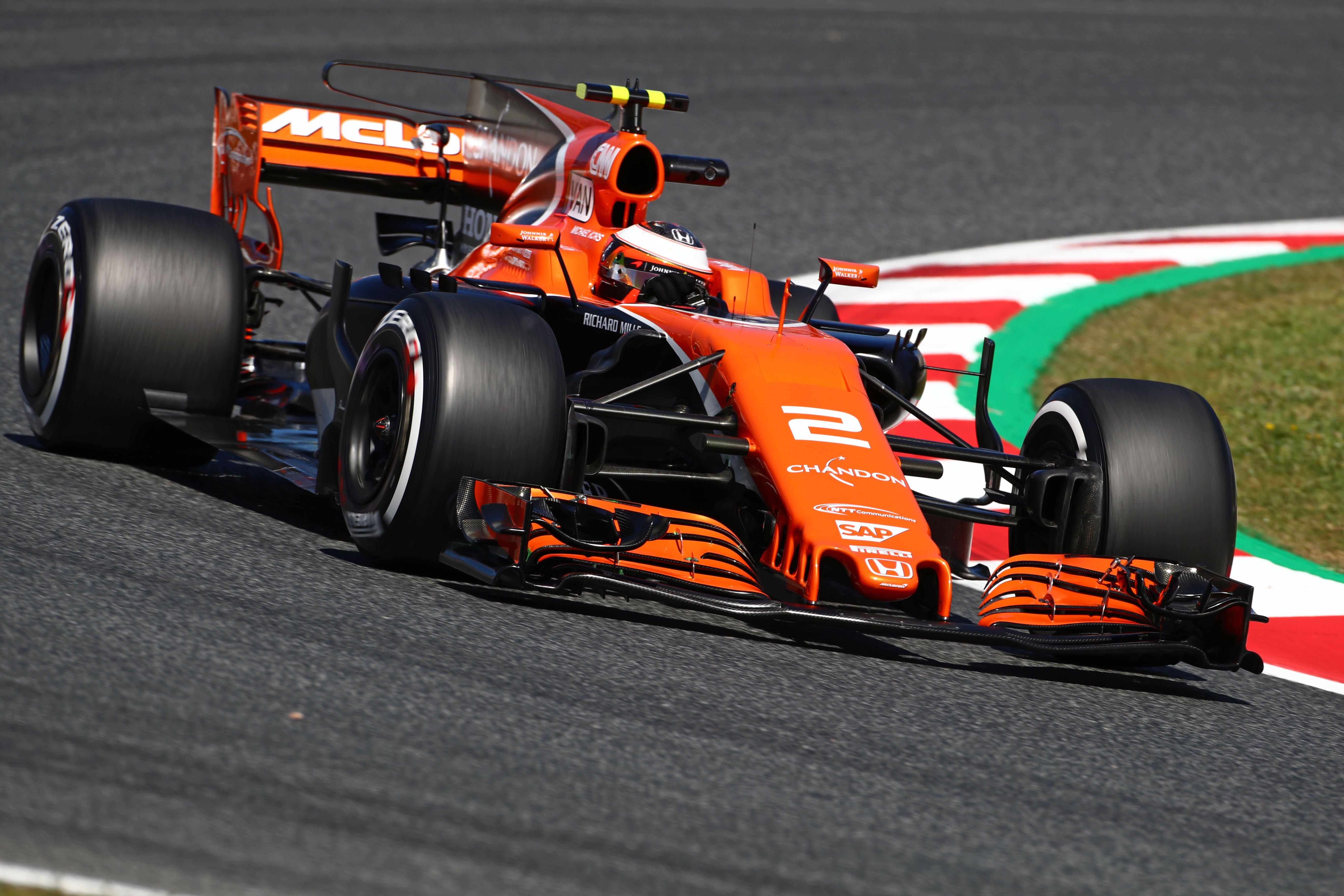 Formula One World Championship 2017, Round 5, Spannish Grand Prix, Barcelona, Spain, Friday 12 May 2017 – Stoffel Vandoorne (BEL) McLaren F1