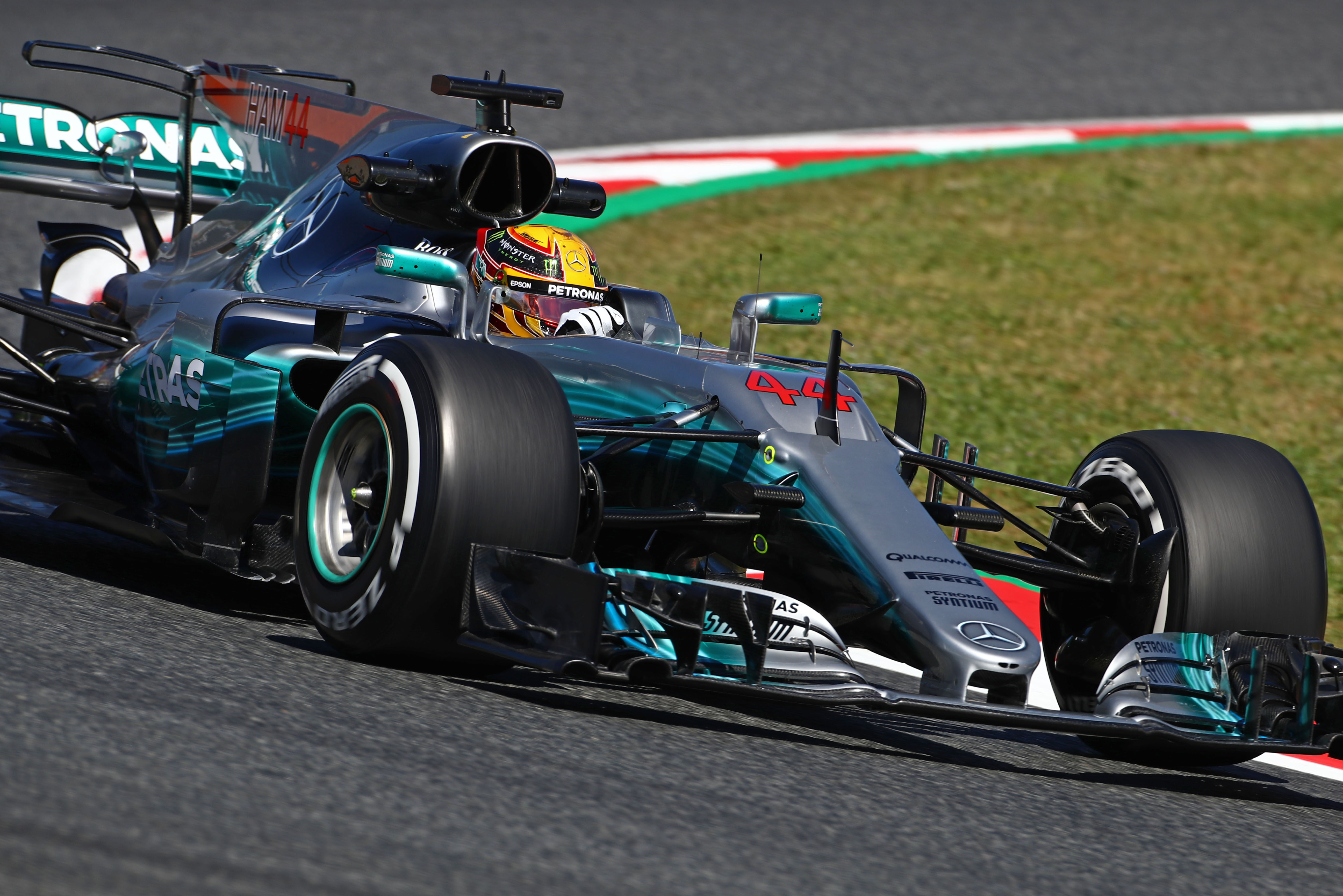 Formula One World Championship 2017, Round 5, Spannish Grand Prix, Barcelona, Spain, Friday 12 May 2017 – Lewis Hamilton (GBR) Mercedes AMG F1