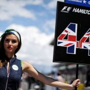 Formula One World Championship 2017, Round 5, Spannish Grand Prix, Barcelona, Spain, Sunday 14 May 2017 – Grid girl.