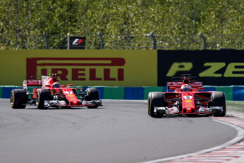 'Ferrari in 2018 verder met Vettel en Räikkönen'