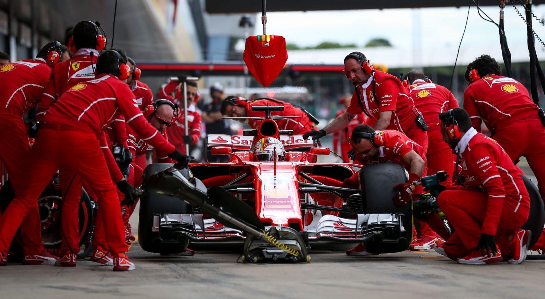 Vettel: 'Nog geen crisis bij Ferrari'