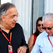 Formula One World Championship 2017, Round 11, Hungarian Grand Prix, Budapest, Hungary, Sunday 30 July 2017 – L to R): Sergio Marchionne (ITA), Ferrari President and CEO of Fiat Chrysler Automobiles with Piero Ferrari (ITA) Ferrari Vice-President.